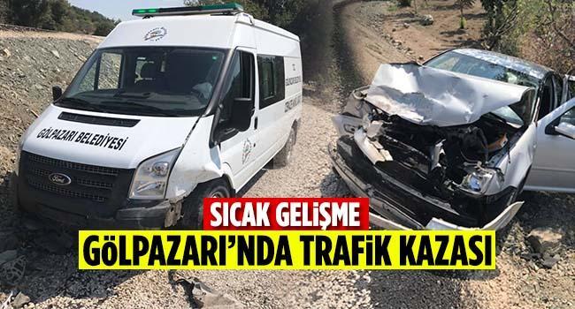Gölpazarı'nda trafik kazası