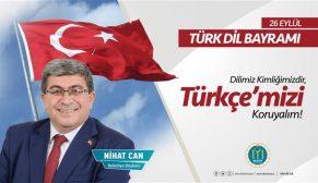 """""""DİLİMİZ KİMLİĞİMİZDİR, TÜRKÇE'MİZİ KORUYALIM"""""""
