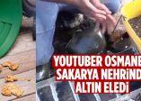 Youtuber Osmaneli Sakarya Nehrinde Altın Eledi
