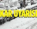 Bilecik'te Kuvvetli Kar Yağışlarına Dikkat!