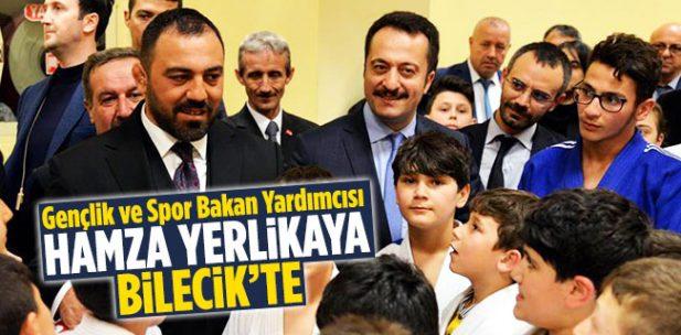Gençlik ve Spor Bakan Yardımcısı Hamza Yerlikaya Bilecik'te