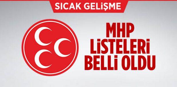 MHP Bilecik ve İlçeleri  İl Genel Meclisi ve Belediye Meclisi Üyesi Aday Listesi