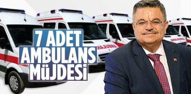 Bilecik Milletvekili Selim Yağcı'dan 7 Adet Ambulans Müjdesi