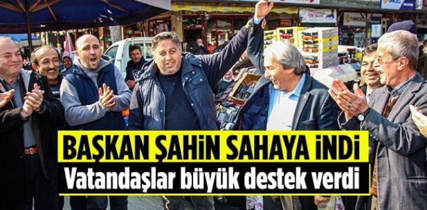 Osmaneli Belediye Başkanı Münür Şahin Sahaya İndi