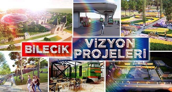 Bilecik'i 2023'e Taşıyacak 23 Vizyon Projesini Açıkladı