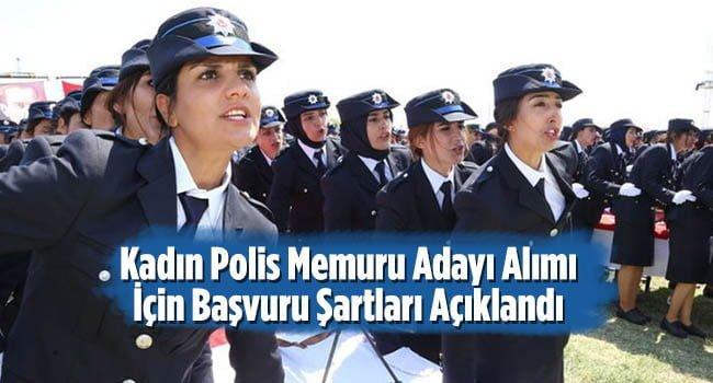 Kadin Polis Memuru Adayi Alimi