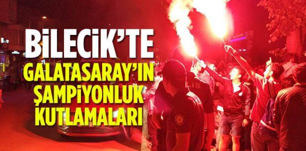 Bilecik'te Galatasaray'ın Şampiyonluk Kutlamaları