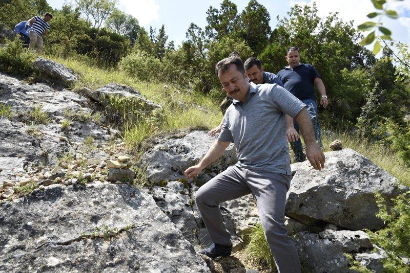 Harmankaya Kanyonunu Bin 140 Metreden İzlediler 4