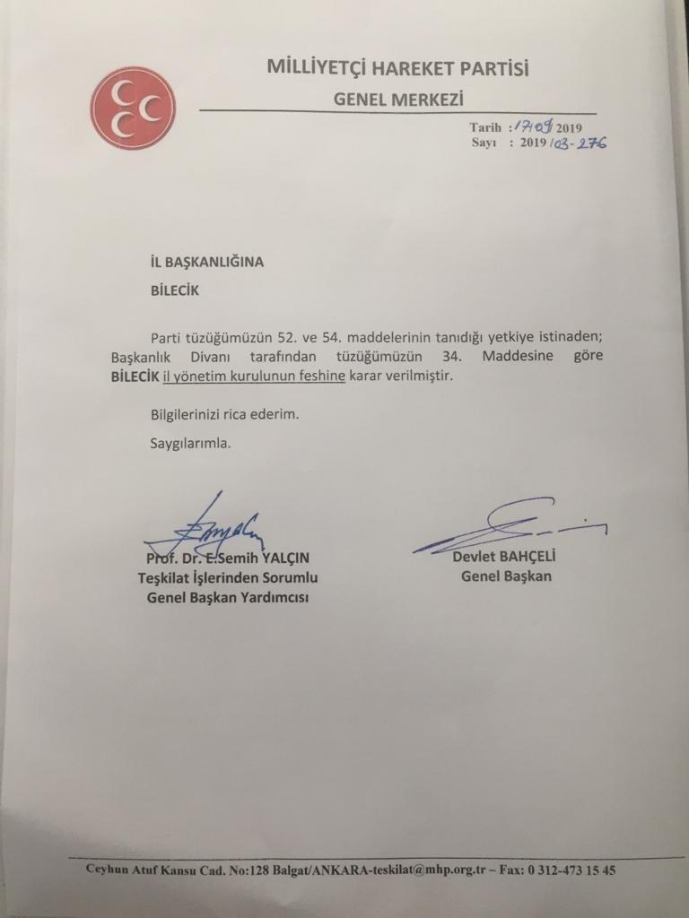 Mehmet Fatih Yaşar İl Başkanı Oldu-1