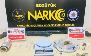 Uyuşturucu Madde Ticaretinden 4 Gözaltı