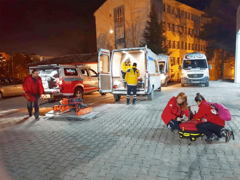 Elazığ Depremi-Bilecikte Birimler Teyakkuza Gecti- AFAD-UMKE-ihh-2