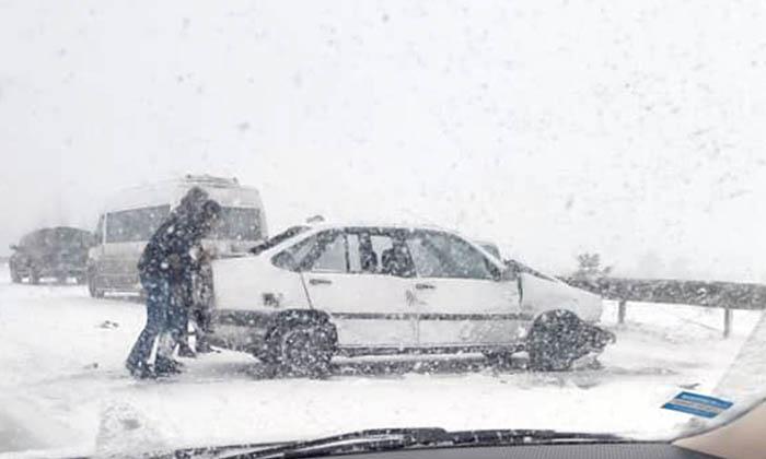 bilecik-bozuyuk-eskisehir yolu sürücüler dikkat