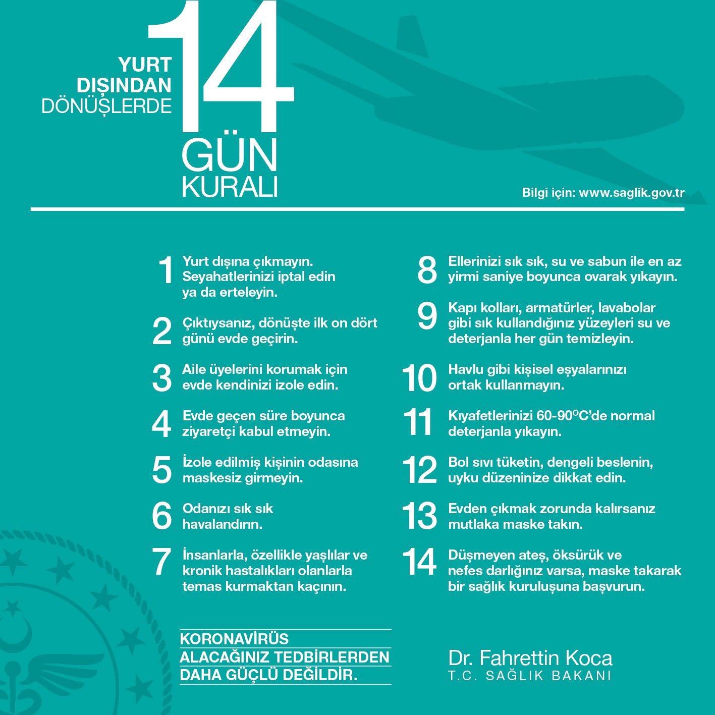 14 gun kurali