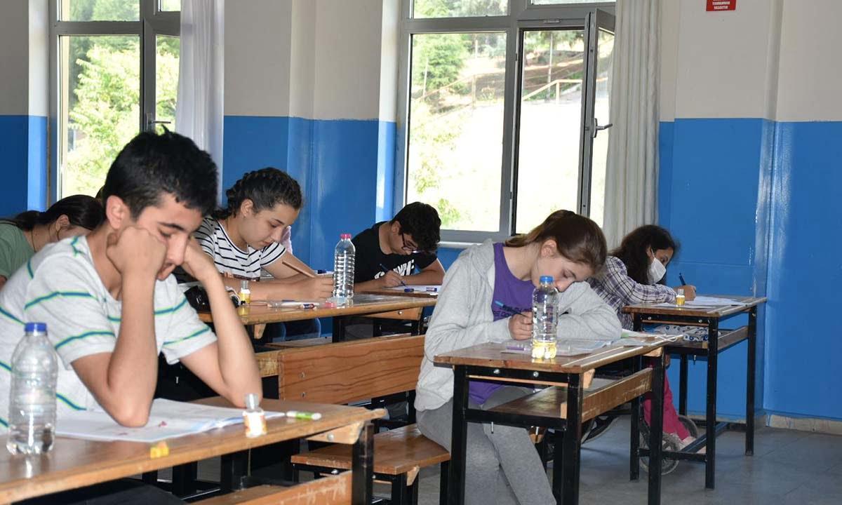 LGS Sınavı Heyecanını 3573 Öğrenci Yaşadı