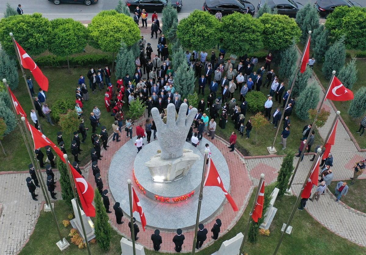 15 Temmuz Demokrasi ve Milli Birlik Anıtı Bilecik