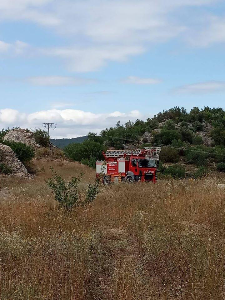 Bayırköy Beldesi Çınarlık Mevkisinde Yangın