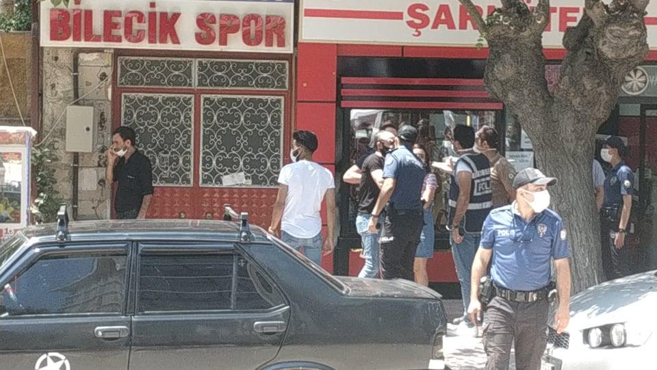 Bilecik Kayı Plazada Yangın-Polis Vatandaşları Uyarıyor