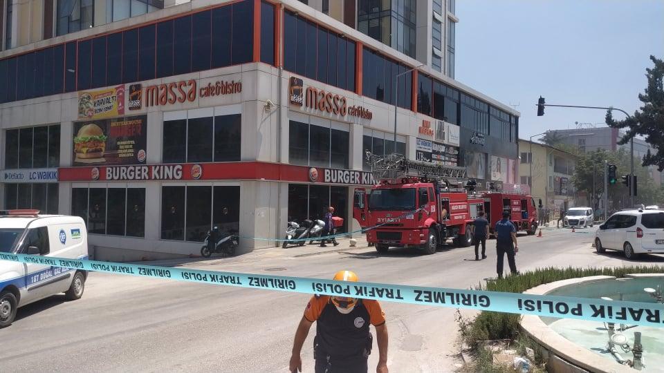 Bilecik Kayı Plazada Yangın-Güvenlik Şeridi