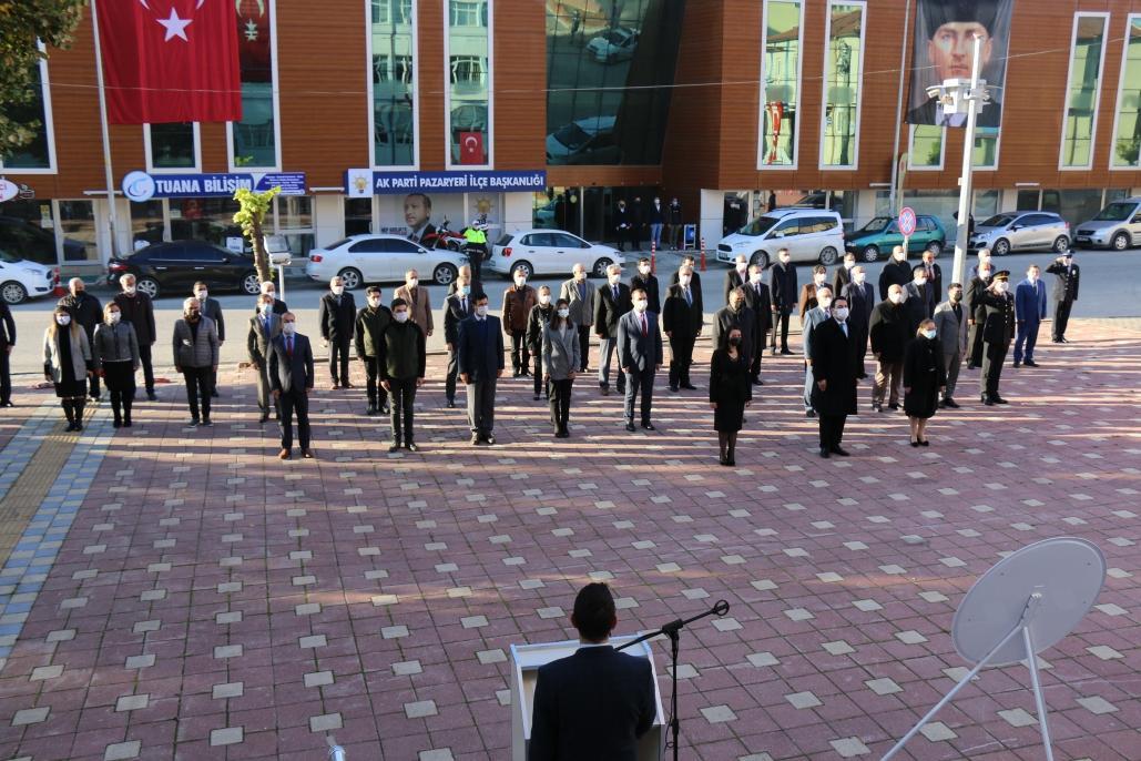Pazaryeri 10 Kasım Atatürk'ü Anma Günü