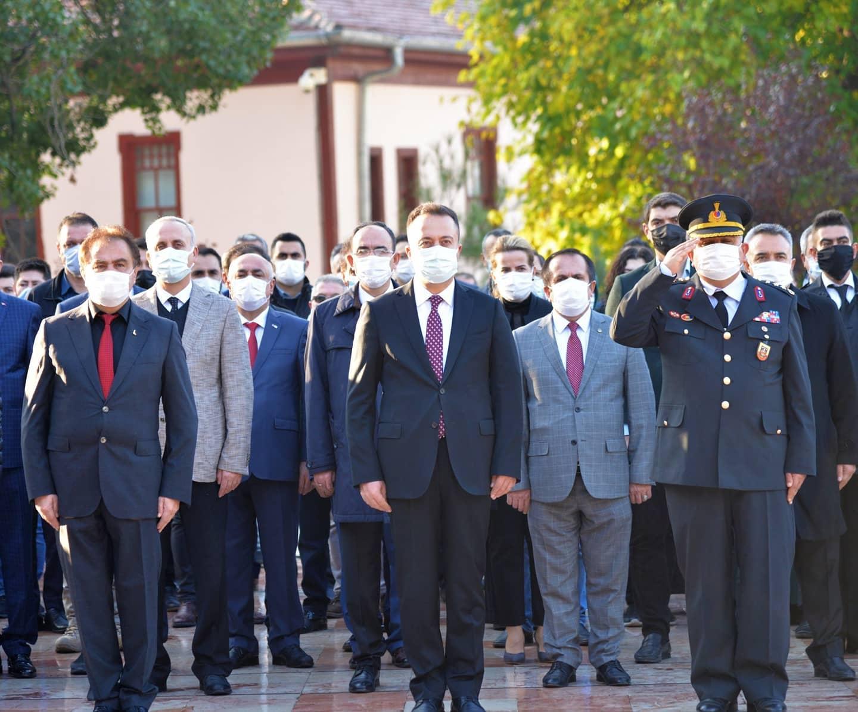 Bilecik 10 Kasım Atatürk'ü Anma Günü
