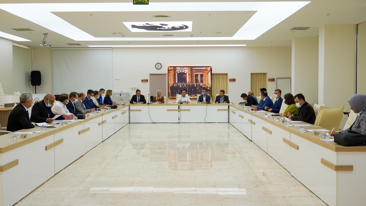 Bilecik Belediye Başkanı Şahin ve Ekibi Projeler Hakkında Görüş Alışverişinde Bulundu3